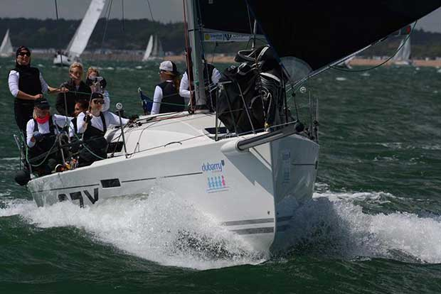 Blackjack 2 at the Dubarry Women's Open Keelboat Championship 2017 - photo © Trevor Pountain