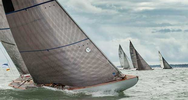 6m class at Cowes Classics Week © Tim Jeffreys Photography