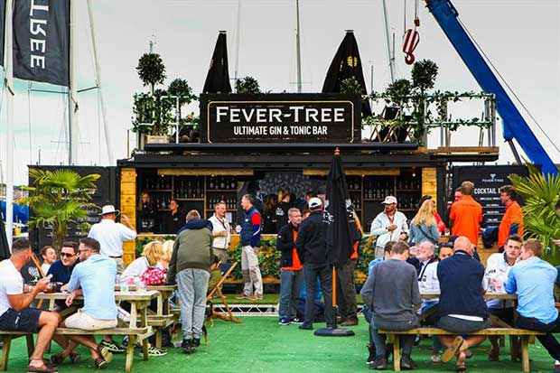 Fever-Tree at Cowes Week 2017 - photo © Tom Gruitt / CWL