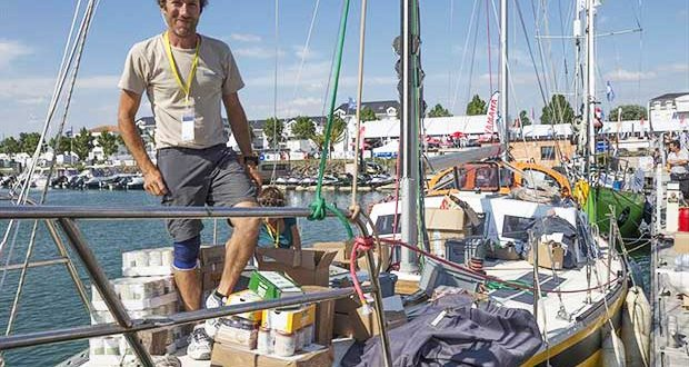 Francesco Cappelletti, the 40-year old professional sailor from Pisa will miss the start of the Golden Globe Race on Sunday July 1st. Late preparations means that he has until Noon on Saturday 7th to complete his solo trials and safety checks - photo © Tim Bishop / PPL / GGR
