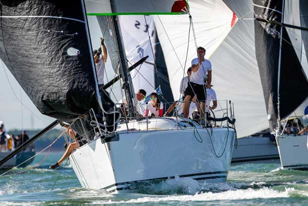 Michael Blair's King 40 Cobra - 2018 IRC European Championship and Commodores' Cup - Day 2 - photo © Paul Wyeth / pwpictures.com