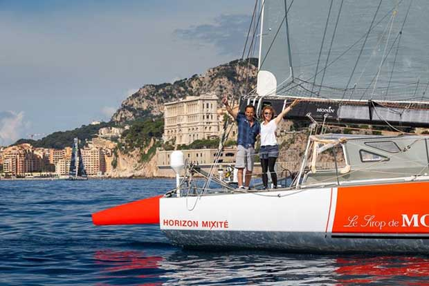 Monin arrival - Monaco Globe Series - photo © YCM