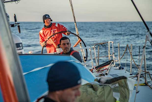 Leg 11, from Gothenburg to The Hague, day 03 on board Vestas 11th Hour. 23 June, . Mark Towill. - photo © Jeremie Lecaudey / Volvo Ocean Race