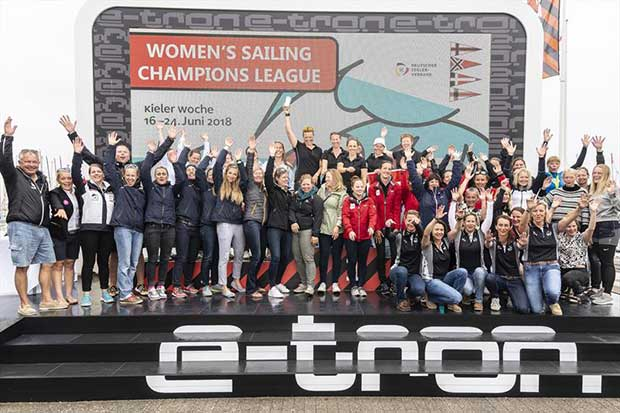 Women's SAILING Champions League in Kiel - photo © SCL / Sven Jürgensen