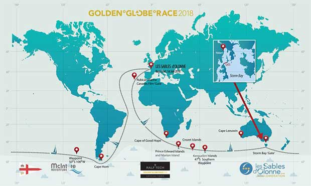 2018 Golden Globe Race - photo © Golden Globe Race