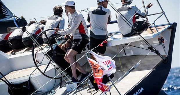"H.M. King Felipe VI on board ""Aifos 500"" on day 2 of the 37th Copa del Rey MAPFRE in Palma - photo © María Muiña / Copa del Rey MAPFRE"