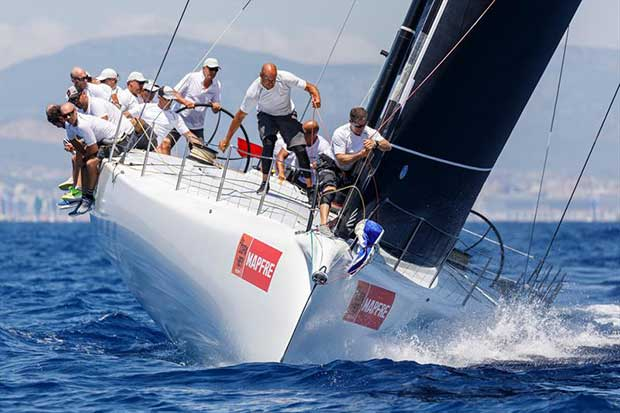 """Cannonball"" on day 2 of the 37th Copa del Rey MAPFRE in Palma - photo © Nico Martínez / Copa del Rey MAPFRE"