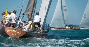 Opposition in class 'Red 1' on day 1 of Cowes Classics Week - photo © Tim Jeffreys Photography