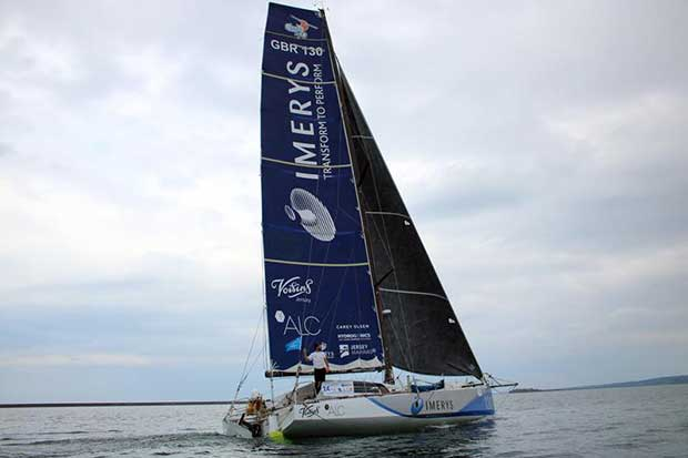 Imerys Clean Energy soon after crossing the finish line - Drheam Cup © Phil Sharp Racing