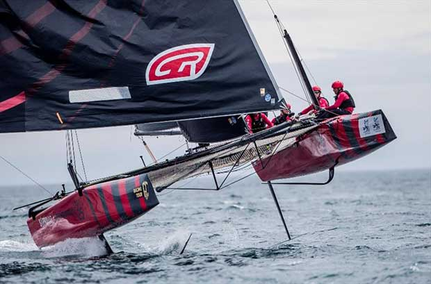 Copa del Rey MAPFRE holds a special place in the heart for Federico Ferioli, Argentinean skipper of Codigo Rojo Racing - photo © Jesus Renedo / GC32 Racing Tour