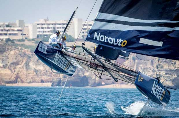 Franck Cammas' NORAUTO will be the boat to beat at Copa del Rey MAPFRE - photo © Jesus Renedo / GC32 Racing Tour
