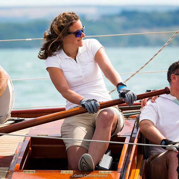 Ladies race on day 4 at Panerai British Classic Week © Guido Cantini / www.SeaSee.com