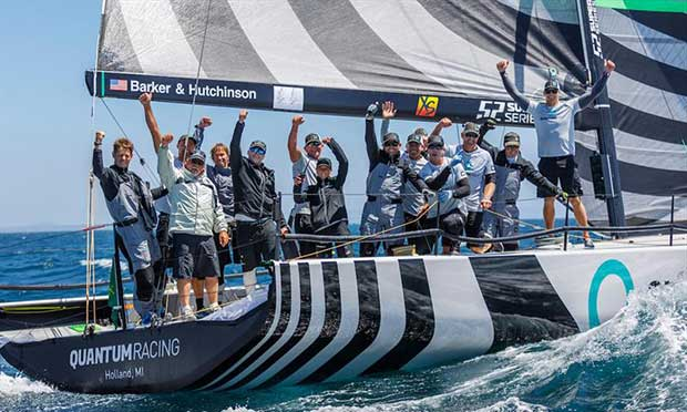Quantum Racing win the Rolex TP52 World Championship - photo © Nico Martinez / www.MartinezStudio.es
