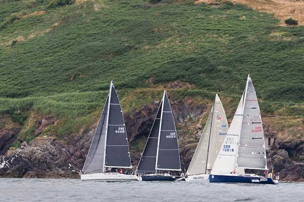Class One boats starting racing off Weaver's Point on the opening day of Volvo Cork Week - photo © David Branigan / Oceansport