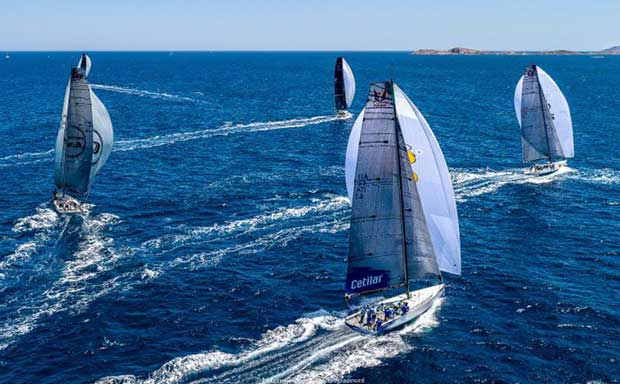 Melges 40 Grand Prix, Copa del Rey Mapfre 2018 © Melges 40 / Barracuda Communication