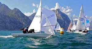 Flying Fifteen Europeans on Lake Garda © Elena Giolai / Fraglia Vela Riva