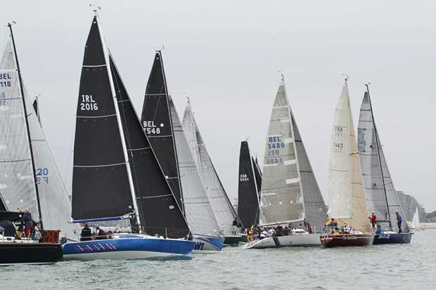 Start of Race 1 - 2018 Half Ton Classics Cup - Day 1 © Fiona Brown