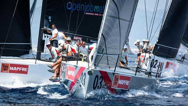 Melges 40 Grand Prix, Copa del Rey Mapfre 2018 - Valentin Zavadnikov, DYNAMIQ SYNERGY SAILING TEAM - photo © Melges 40 / Barracuda Communication