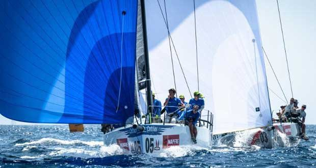 Melges 40 Grand Prix, Copa del Rey Mapfre 2018 - Andrea Lacorte, VITAMINA-CETILAR - photo © Melges 40 / Barracuda Communication
