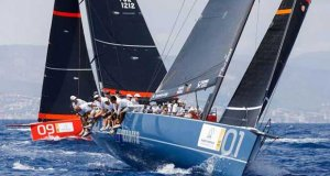 Azzurra is second at the Puerto Portals 52 Super Series - photo © Nico Martinez