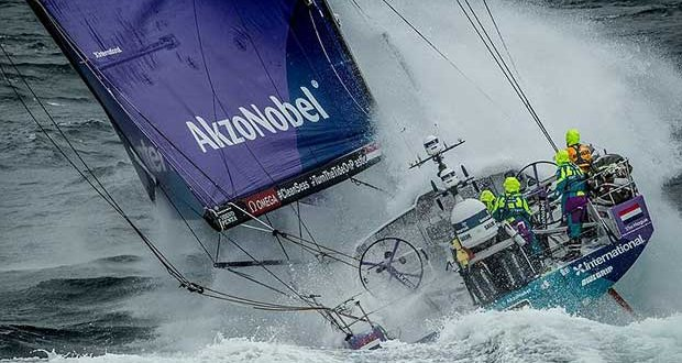Team AkzoNobel - Leg 10 from Cardiff to Gothenburg. © Ainhoa Sanchez / Volvo Ocean Race