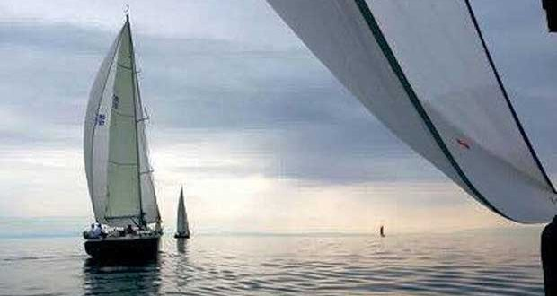 Hispaniola at the start of the Thousand Islands Race © SCOR