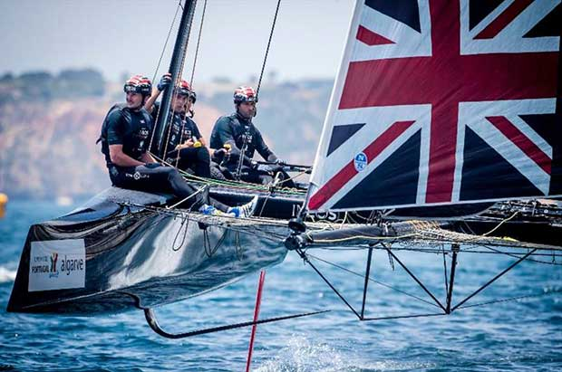 Ben Ainslie, the most successful Olympic sailor of all time, comes to Villasimius with his INEOS Team UK © Jesus Renedo / GC32 Racing Tour