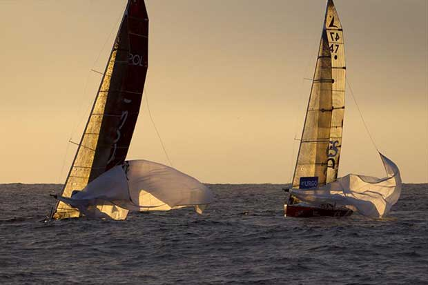 Stage 4 of La Solitaire URGO Le Figaro © Alexis Courcoux
