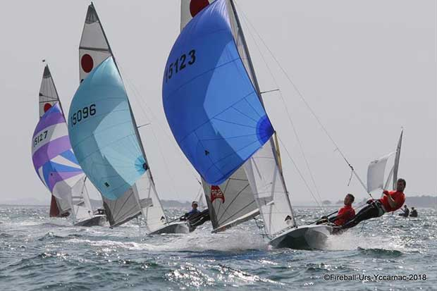 Final day of the Gul Fireball Worlds at Carnac - photo © YCCarnac