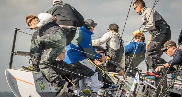 Niall Dowling's Pace on day 3 of the 2018 Wight Shipyard One Ton Cup ©VR Sport Media