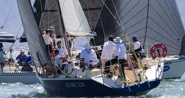 Infarrction gets amongst it - SeaLink Magnetic Island Race Week 2018 - photo © Andrea Francolini