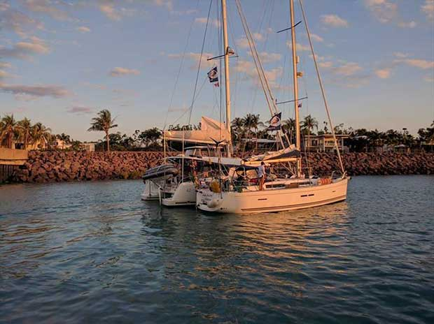 2018 World ARC in Darwin - Boats welcome dock - photo © World Cruising