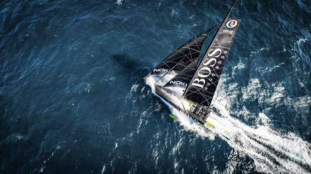 British Skipper Alex Thomson breaks 24 hour distance record - photo © Alex Thomson Racing