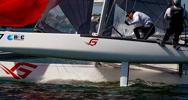 F18 Worlds at Sarasota day 4 - photo © Ellinor Walters