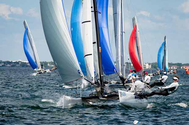 F18 Worlds at Sarasota day 4 ©Ellinor Walters