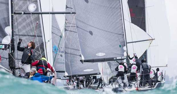 2018 Farr 40 World Championships Day 2 - photo © Ian Roman / Farr 40 Worlds 2018
