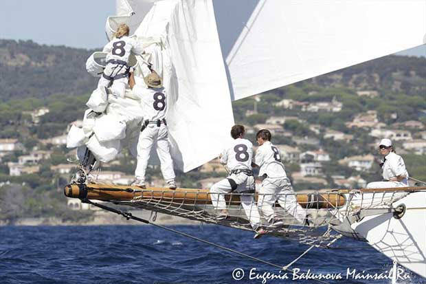 Les Voiles de Saint-Tropez day 4 - photo © Eugenia Bakunova / www.mainsail.ru