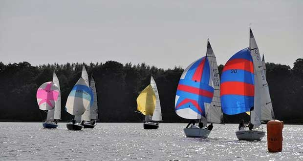 Micro Tonner Championships at Stour on day 1 © Philip Cunningham