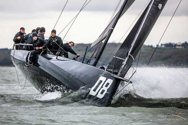 2018 FAST40+ Race Circuit Round Six in the Solent © www.sportography.tv