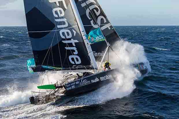 Fabrice Amedeo on Newrest - Art & Fenêtres - Route du Rhum-Destination Guadeloupe - photo © Jean-Marie Liot/Newrest - Art & Fenêtres