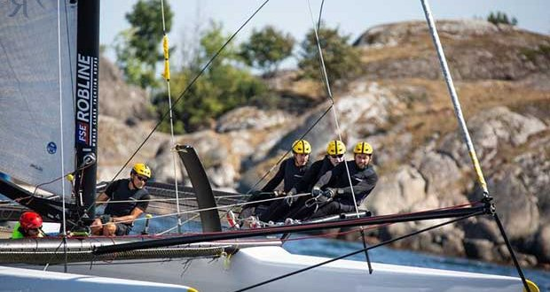 WMRT Regata de Portugal - Welcome addition for Spindrift racing © Edouard Elias / Spindrift racing