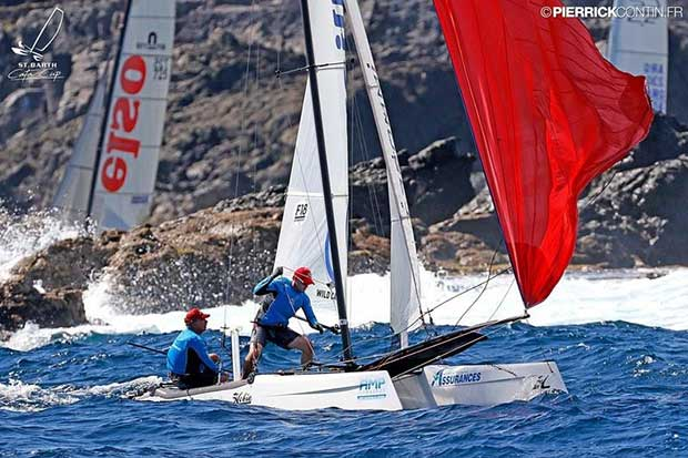 Mitch Booth & Andy Dinsdale – St. Bart Cata-Cup 2016 - photo © Pierrick Contin / www.pierrickcontin.fr