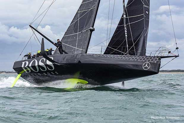 The plan is to have a Volvo version of the IMOCA60 that will fit within the IMCOA class box rule © Rick Tomlinson