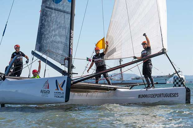 World Match Racing Tour: Lisboa (POR) - Regata de Portugal - Day 5 ©Ricardo Pinto
