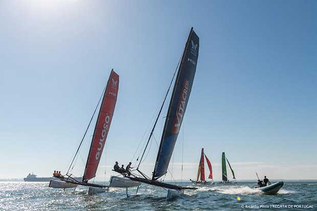 Tight Quarter FInal Stage action - Lisboa (POR) - Regata de Portugal - Day 4 - photo © Ricardo Pinto