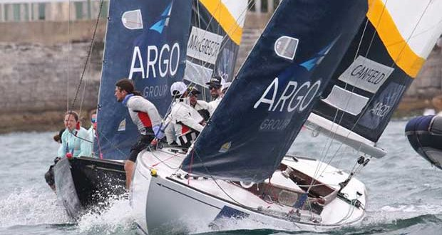 2018 Argo Group Gold Cup day 4 © Charles Anderson / RBYC
