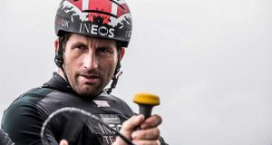 INEOS Rebels UK have their crew bolstered in Los Cabos by four-time Olympic gold medallist and Britain's most successful sailor, Sir Ben Ainslie - Extreme Sailing Series Los Cabos 2018 - photo © Harry KH / INEOS Team UK