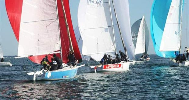 French J/80 National Championships - photo © CN Pornic Club