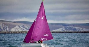 Hansa sailing at Weymouth © RYA