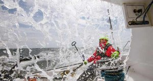 Onboard ARIEL II, with Ari Pekka Huusela, in the Route du Rhum-Destination Guadeloupe - photo © Jari Salo